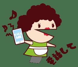 Puppet family-Mom- sticker #2090215