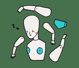 I'm a robot sticker #2090267