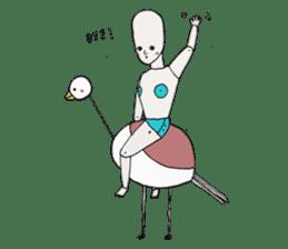 I'm a robot sticker #2090268