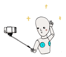 I'm a robot sticker #2090277