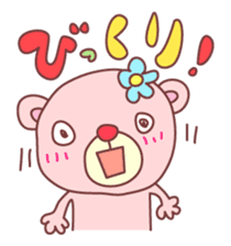 PINK-KUMA4 sticker #2091622