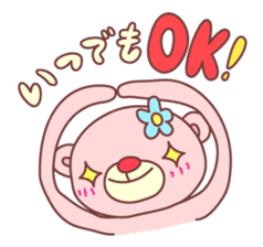 PINK-KUMA4 sticker #2091627