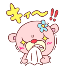 PINK-KUMA4 sticker #2091631