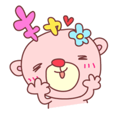 PINK-KUMA4 sticker #2091638
