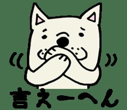 More MIKAWABEN sticker,French bulldog. sticker #2091825