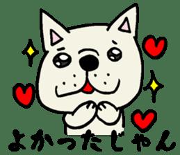 More MIKAWABEN sticker,French bulldog. sticker #2091860