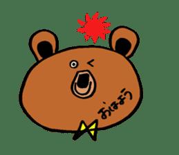 Kuma~san sticker #2092821