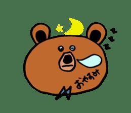 Kuma~san sticker #2092822