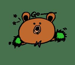 Kuma~san sticker #2092826