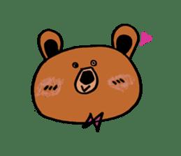 Kuma~san sticker #2092832