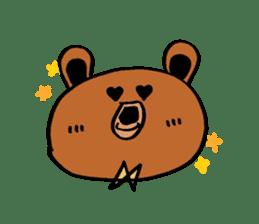 Kuma~san sticker #2092834