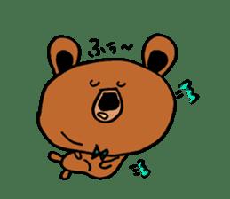 Kuma~san sticker #2092846
