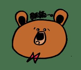 Kuma~san sticker #2092847