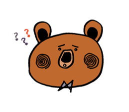 Kuma~san sticker #2092848