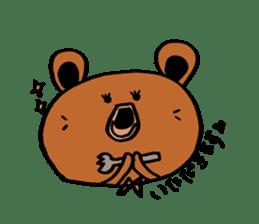 Kuma~san sticker #2092856