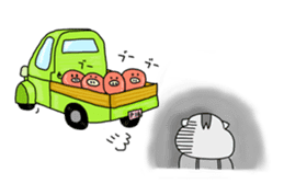 Daily of Piglet Putaro with apples sticker #2092886
