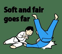 Talking by Judo sticker #2093301