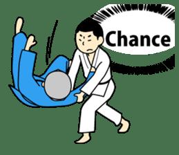 Talking by Judo sticker #2093302