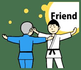 Talking by Judo sticker #2093304