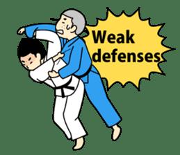 Talking by Judo sticker #2093305
