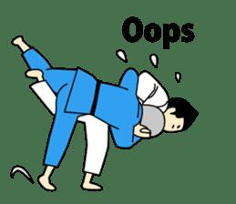 Talking by Judo sticker #2093306
