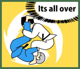 Talking by Judo sticker #2093308