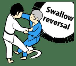 Talking by Judo sticker #2093309