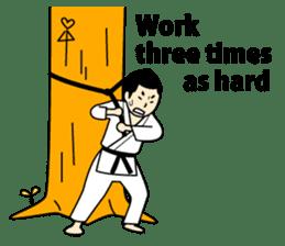 Talking by Judo sticker #2093311