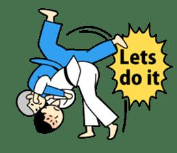 Talking by Judo sticker #2093312