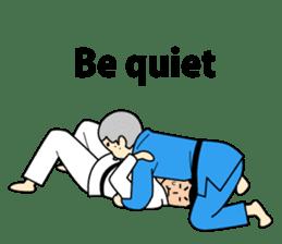 Talking by Judo sticker #2093319