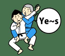 Talking by Judo sticker #2093320