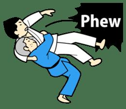 Talking by Judo sticker #2093324