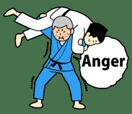 Talking by Judo sticker #2093325