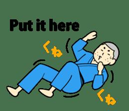 Talking by Judo sticker #2093326