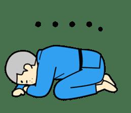 Talking by Judo sticker #2093327