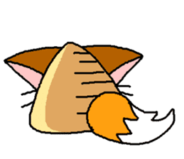triangle animal sticker #2095828