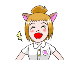 The Dog girls collection sticker #2096890