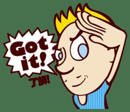 Bilingual Talk Stickers English&Japanese sticker #2096942