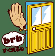Bilingual Talk Stickers English&Japanese sticker #2096944