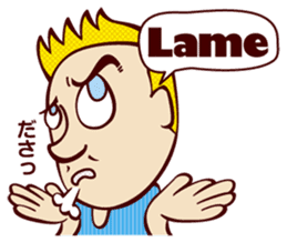 Bilingual Talk Stickers English&Japanese sticker #2096971