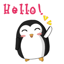 Piroo Cute Penguin and Family sticker #2098253
