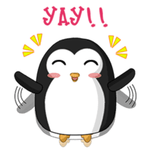 Piroo Cute Penguin and Family sticker #2098254