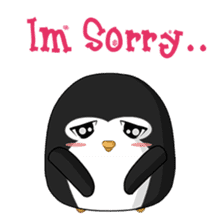 Piroo Cute Penguin and Family sticker #2098263
