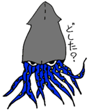 oceandakuto of Bodacious  Mr.Squid sticker #2098659