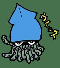 oceandakuto of Bodacious  Mr.Squid sticker #2098661