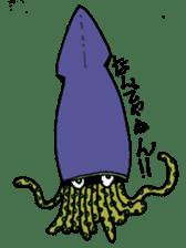 oceandakuto of Bodacious  Mr.Squid sticker #2098665