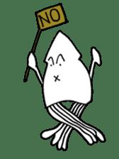 oceandakuto of Bodacious  Mr.Squid sticker #2098667