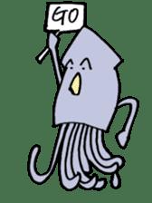 oceandakuto of Bodacious  Mr.Squid sticker #2098673