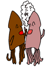 oceandakuto of Bodacious  Mr.Squid sticker #2098676