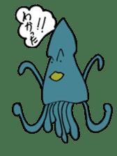 oceandakuto of Bodacious  Mr.Squid sticker #2098681